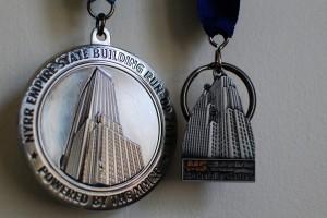 L'Empire State building par l'escalier