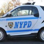La police de New York va rouler en Smart