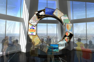 L'observatoire de la One World Trade Center se dévoile