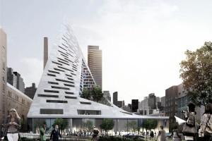 Architecture : New York s'offre une pyramide