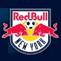 L'écusson des New York Red Bulls..