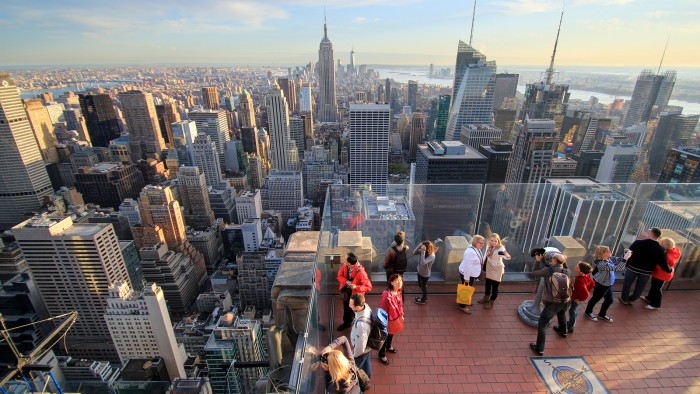 Top of the rock new york for The best of nyc