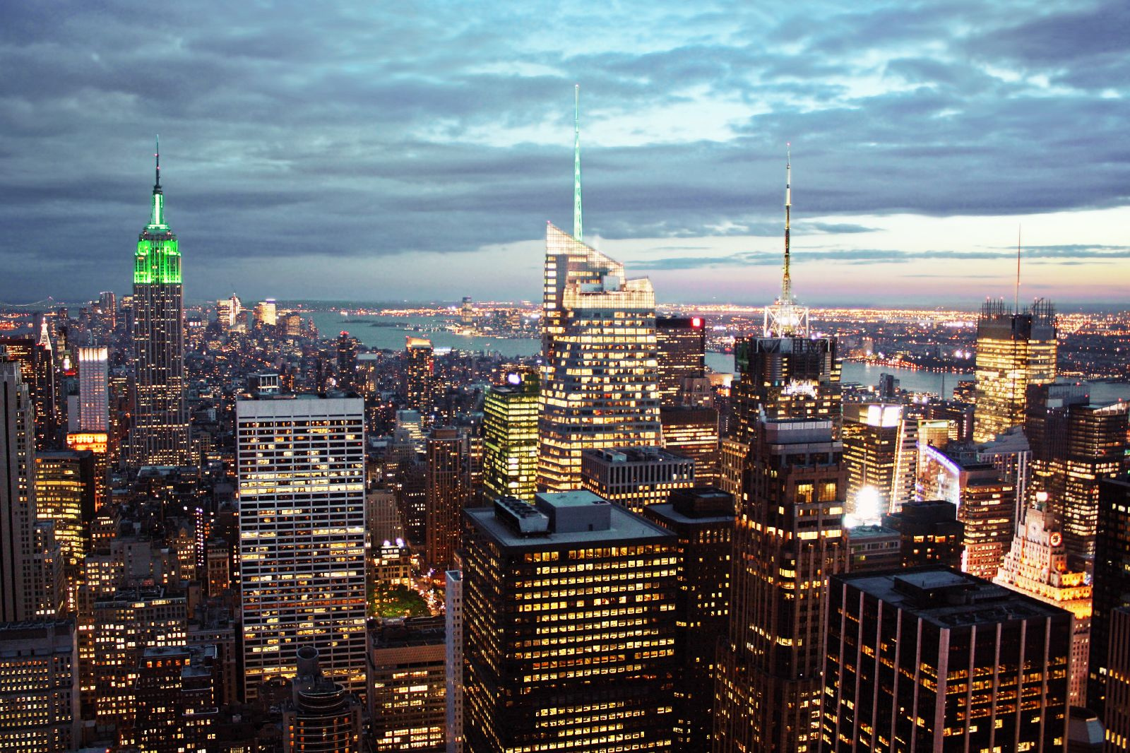 Top of the rock la plus belle vue sur new york new york for The best of nyc