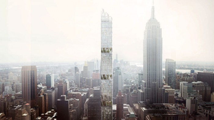 un nouveau voisin pour l 39 empire state building new york. Black Bedroom Furniture Sets. Home Design Ideas