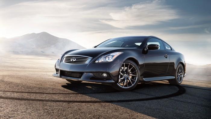 Le nouveau coupé Q60 signé du constructeur américain Infiniti. (Photo DR)