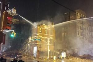 New York : explosion due au gaz dans l'East Village