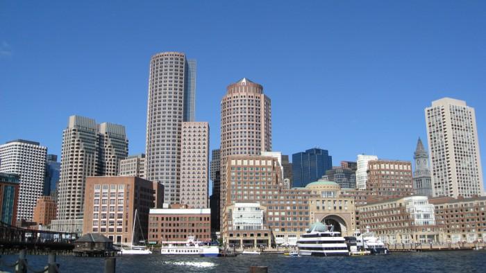 La skyline de Boston
