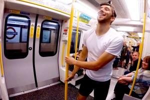 L'homme qui court plus vite que le métro de New York