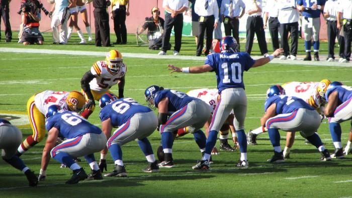 Les New York Giants visent le Super Bowl ! (Photo Marc Gallant)