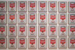 Les soupes d'Andy Warhol en vedette au MoMA