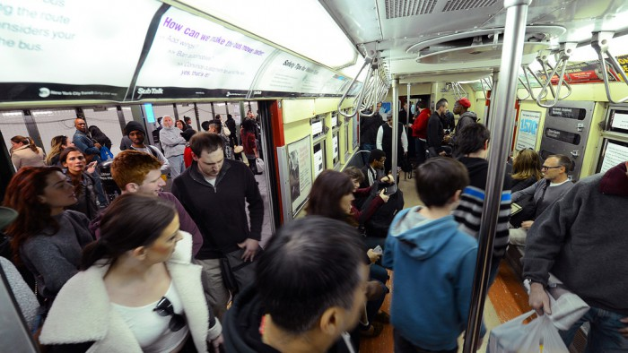 Le métro new-yorkais est toujours plus fréquenté. (Photo MTA)