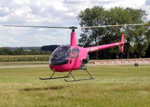 Un Robinson R22 Beta II au décollage. (Photo DR)