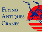 Flying Cranes Antiques