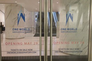 Visitez le lobby du One World Observatory