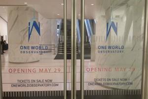 Visitez le lobby du One World Observatory