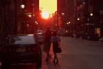 Voir un Manhattanhenge à New York