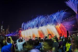 Voir le feu d'artifices du 4 juillet à New York