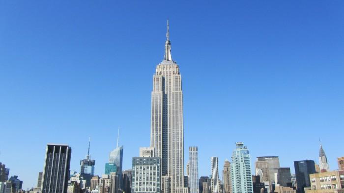 L'Empire State building depuis le 230 Fifth. (Photo David Jones)