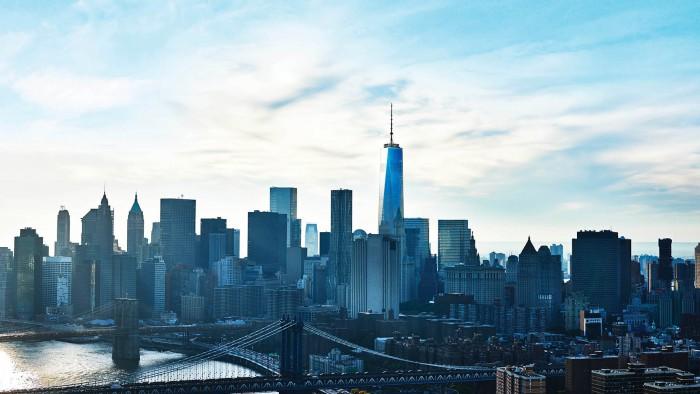 La 1WTC et la skyline de Manhattan. (Photo OWO)