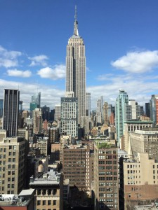 Vue sur l'Empire State building ! (Photo Nathalie Darfeuil Sabot)
