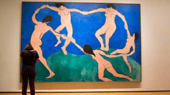 Une oeuvre d'Henry Matisse au MoMA. (Photo  Phil Roeder)
