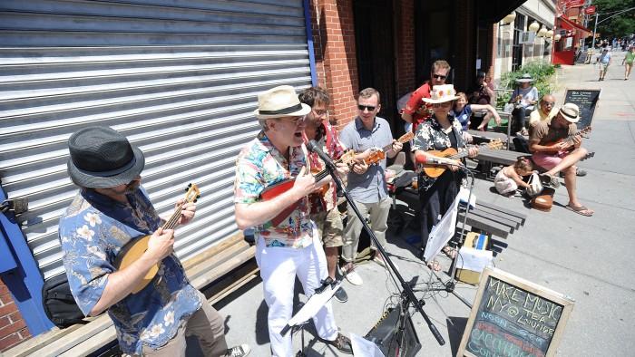 Découvrez une foule de concerts dans les rues de New York ! (Photo MMNY)