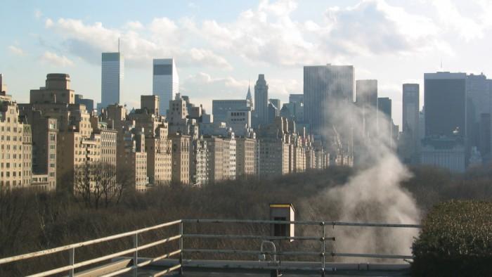 La vue depuis le rooftop du Metropolitan Museum.