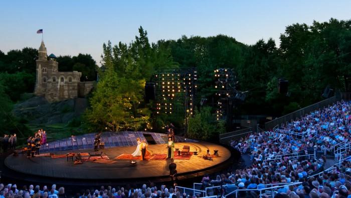 Une représentation l'an dernier dans Central Park. (Photo DR)
