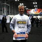 Sean, notre coureur officiel au marathon de New York ! :-)