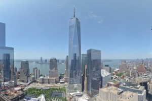 La construction de la One World Trade Center en time-lapse