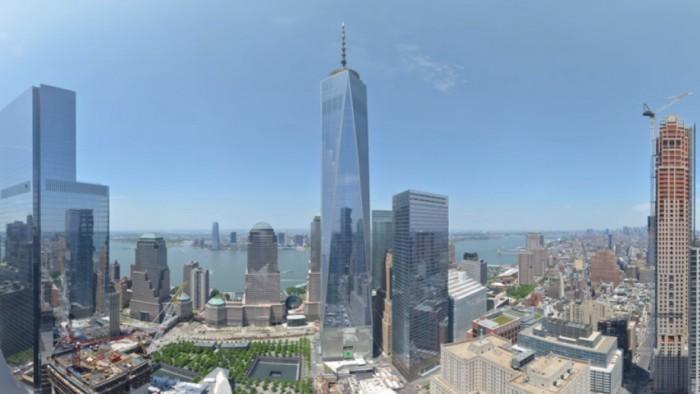 La tour One World Trade Center achevée ! (Capture Earthcam)