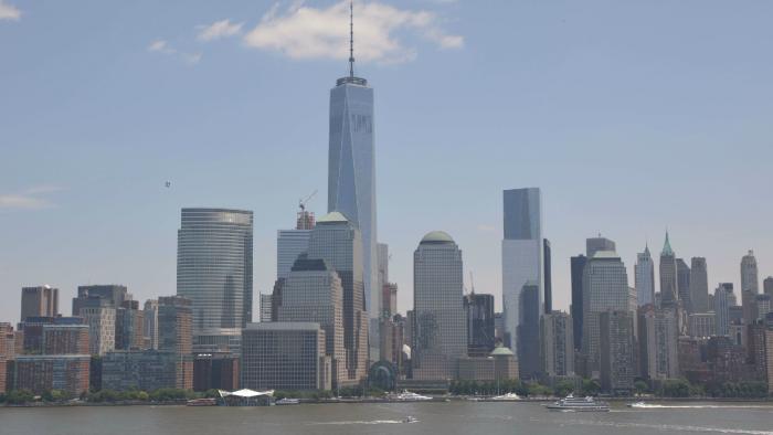 Vue sur le World Trade Center le 10 juillet 2015