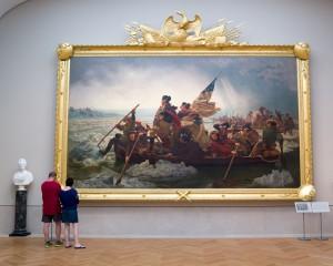 """Washington traversant le Delaware"". (Photo Phil Roeder)"