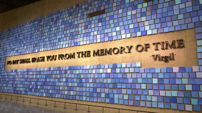 A l'intérieur du 9/11 Museum. (Photo  Travis Wise)