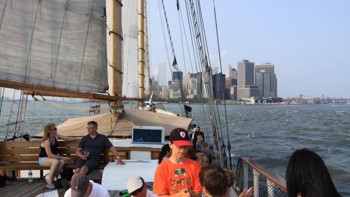 Cap sur Manhattan ! (Photo Didier Forray)