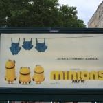 Les Minions envahissent New York !