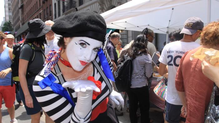 Bons baisers de France ! (Photo Didier Forray)