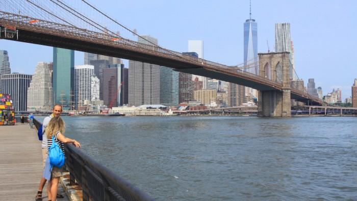 Vue imprenable sur le pont de Brooklyn. (Photo Didier Forray)