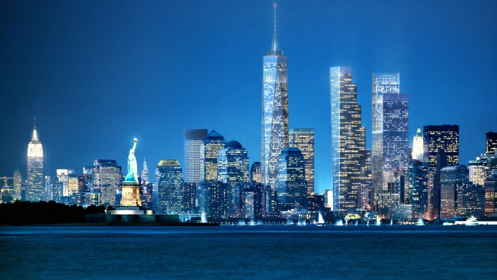 la tour 2 world trade center bient t en chantier new york. Black Bedroom Furniture Sets. Home Design Ideas