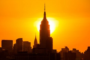Vague de chaleur record à New York