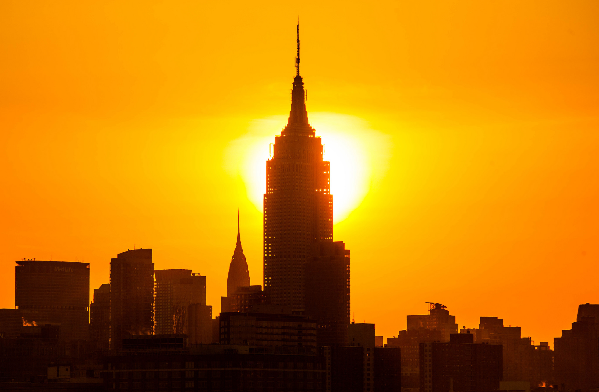 Vague de chaleur record New York New York