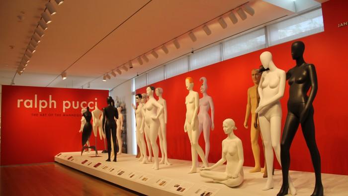 Les mannequins de Ralph Pucci. (Photo Elise)