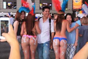 Le maire de New York s'attaque aux seins nus