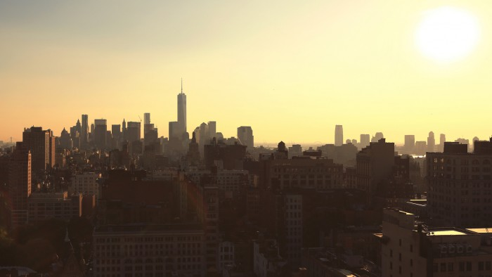 Manhattan écrasée par le soleil ! (Photo Alex)