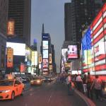 Vidéo : les pompiers de New York sur Times Square