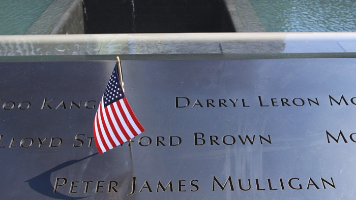 Des drapeaux américains sont posés ici et là. (Photo Didier Forray)