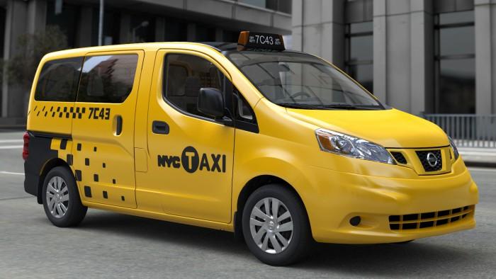 Le nouveau taxi new-yorkais adopte une forme futuriste. (Photo DR)