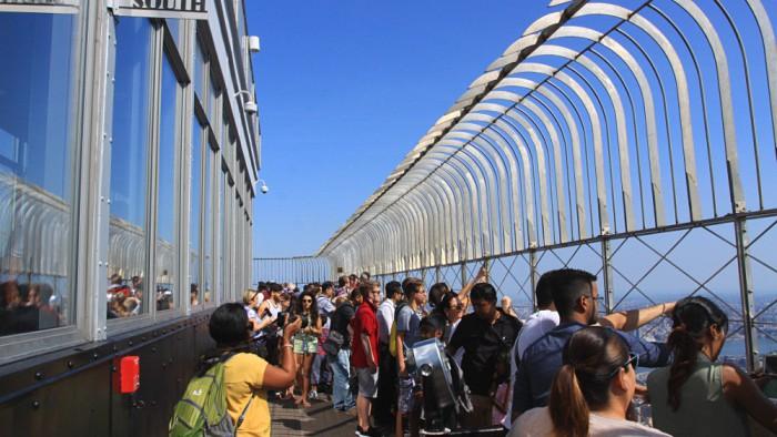 Rendez-vous au sommet de l'Empire State building. (Photo Didier Forray)