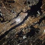 Quand un cosmonaute prend New York en photo