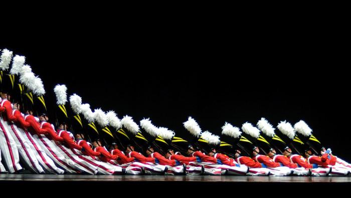 La célèbre parade des soldats de bois. (Photo Bob Jagendorf)